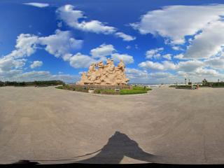 蓬莱阁八仙群雕