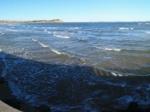 蓬莱海水浴场全景