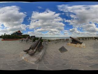 蓬莱阁景区大炮台