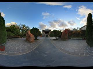 蓬莱阁后宫前院