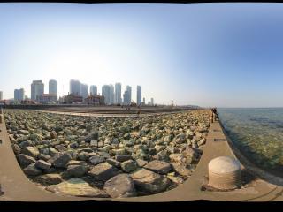 山东烟台海滨广场 NO.1全景