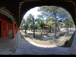 孔庙 大成殿前院