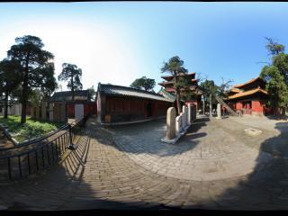 孔庙十三碑亭全景