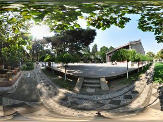 葫芦岛兴城文庙孤木成林