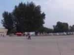 航空博物馆大门口全景