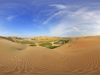 内蒙古响沙湾全景
