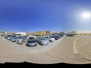 内蒙古响沙湾 休闲服务广场