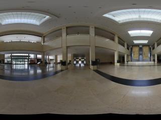 包头博物馆一楼大厅