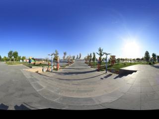 南海湿地景区内主广场1