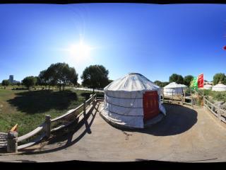 赛汗塔拉天然生态园蒙古包