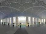 呼和浩特火车东站大厅内景全景