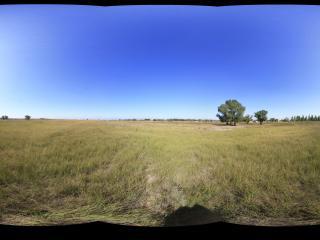蒙古风情园甘迪尔草原全景