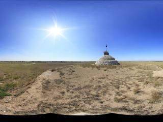 蒙古风情园腾格里敖包