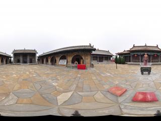 永和县东征纪念馆-毛主席全景