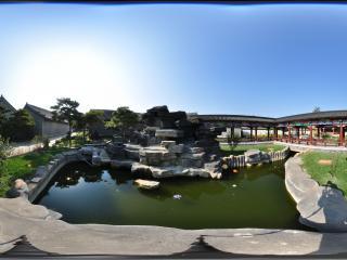 葫芦岛督师府花园