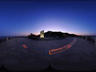 葫芦岛龙回头夜景