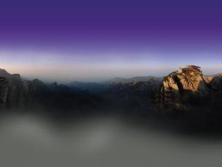 搭乘妖雾旅行黄山