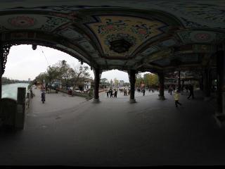 宫殿般的都江堰南桥全景