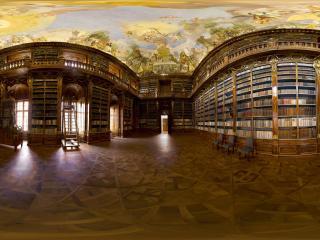 杰克共和国 巴洛克图书馆全景