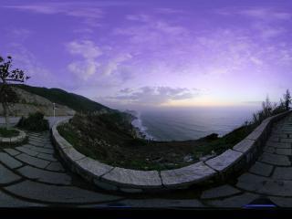 海陵岛日出 (广东阳江闸坡)全景