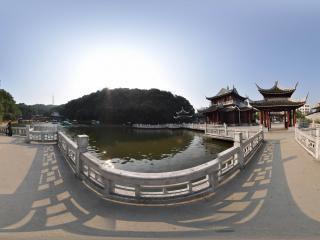 岳阳 金鹗山森林公园全景