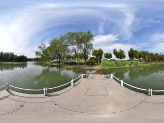 世纪公园镜天湖1全景