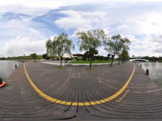 世纪公园镜天湖2全景
