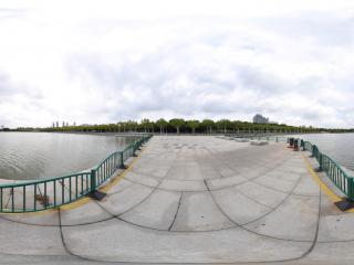 镜天湖全景