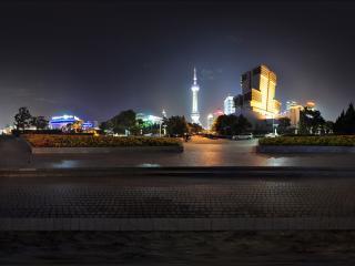 上海滨江大道夜景
