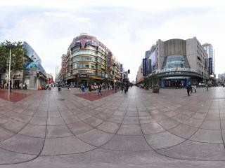上海南京路2全景