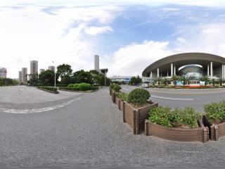 上海科技馆 入口