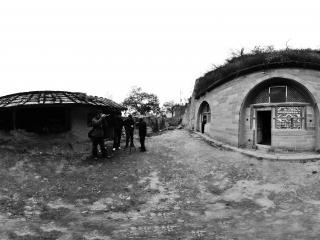 山西永和的窑洞