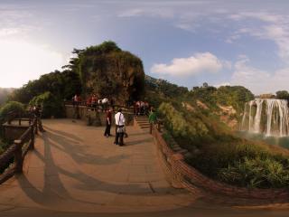 贵州省黄果树瀑布全景
