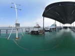 快艇近观大金门岛全景