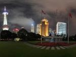 上海国际会议中心夜景
