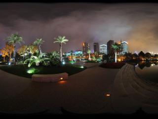 南园公园夜景全景