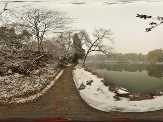 北大未名湖畔