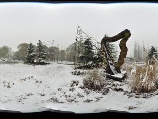 2011 第一场雪 海淀公园