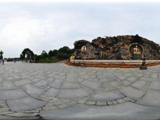 无锡灵山 降魔浮雕