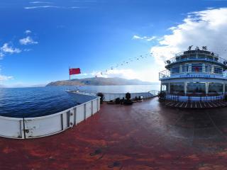 大理 洱海全景
