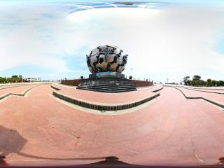 北海公园 雕塑全景