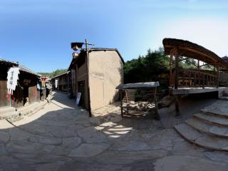 抱犊寨风景-民国风格建筑全景