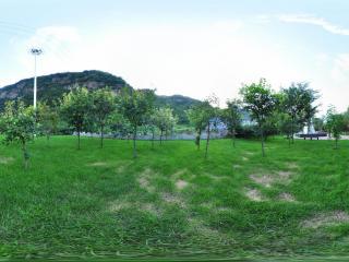 北京白草畔景区全景