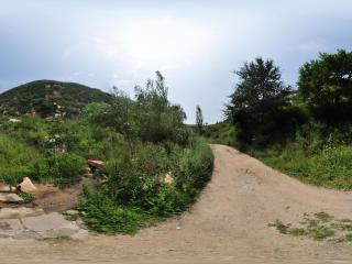 天皇山全景