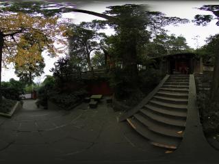 都江堰景区 城隍庙内全景