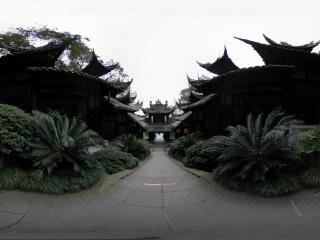 都江堰景区 城隍庙外