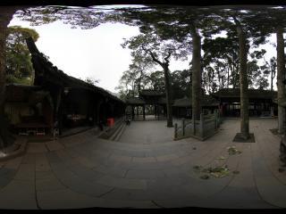 青城山 天然图画的院子