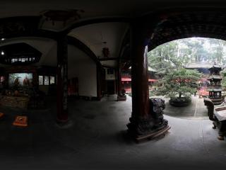 青城山 建福宫内的香火