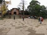 青城山 上清宫殿前广场全景