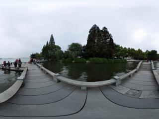 杭州西湖长桥公园